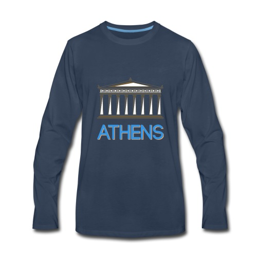 Athens - Greece - Men's Premium Long Sleeve T-Shirt