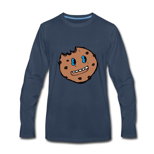 Cute Cookie - Men's Premium Long Sleeve T-Shirt