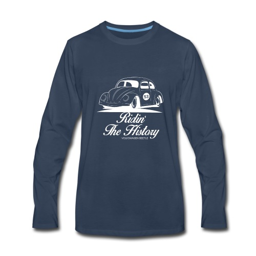 Beetle, Riding The History - Men's Premium Long Sleeve T-Shirt