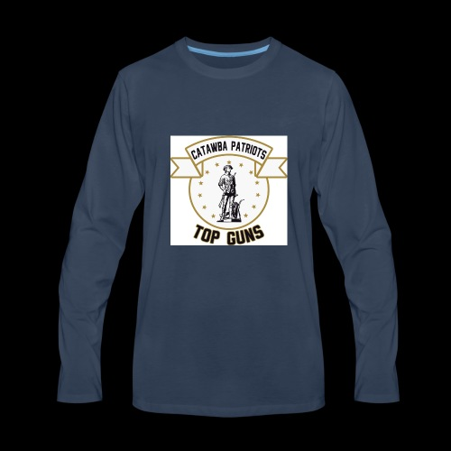 CatawbaPatriotsTopGuns - Men's Premium Long Sleeve T-Shirt