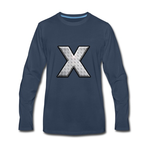 The Exile Training X - Men's Premium Long Sleeve T-Shirt