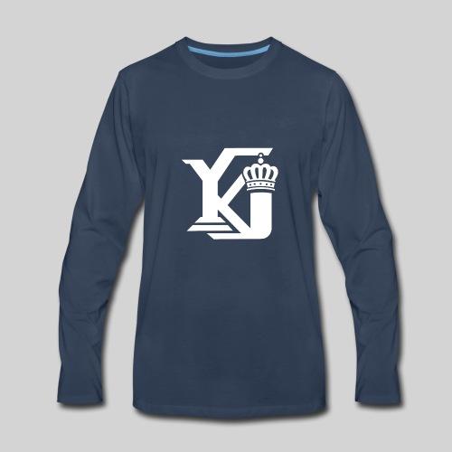 Evolve Sports Young King 17 - Men's Premium Long Sleeve T-Shirt