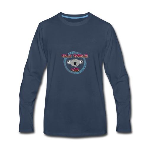 Koala Sparkle Face logo - Men's Premium Long Sleeve T-Shirt