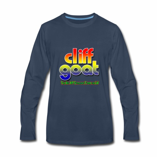 cliffgoat June 2018 Logo - Men's Premium Long Sleeve T-Shirt