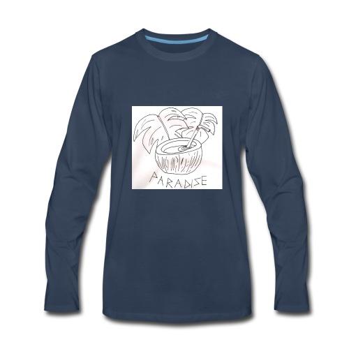 Coconut paradise - Men's Premium Long Sleeve T-Shirt