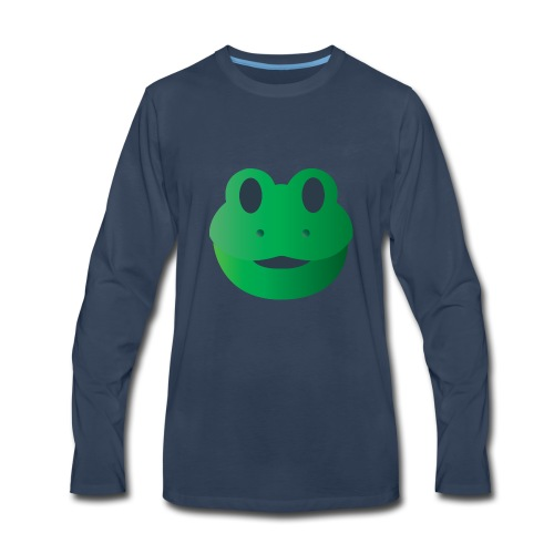 Froggy Icon - Men's Premium Long Sleeve T-Shirt
