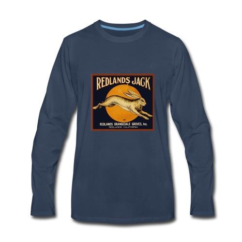 Redlands Jack - Men's Premium Long Sleeve T-Shirt