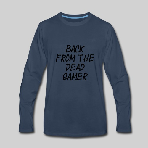 BFTDG text - Men's Premium Long Sleeve T-Shirt