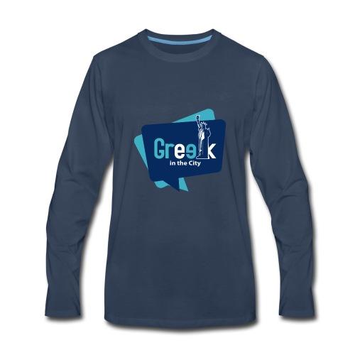 Greek in the City - Men's Premium Long Sleeve T-Shirt