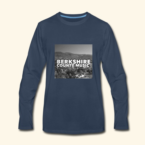 Berkshire County Music Black/White - Men's Premium Long Sleeve T-Shirt