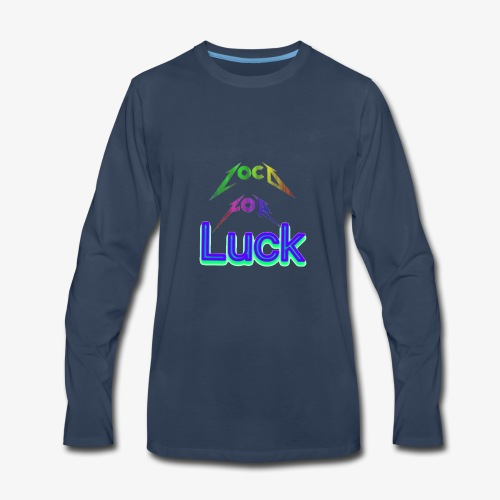 Loco for luck - Men's Premium Long Sleeve T-Shirt