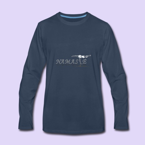 Balancing Stick Namaste-light - Men's Premium Long Sleeve T-Shirt