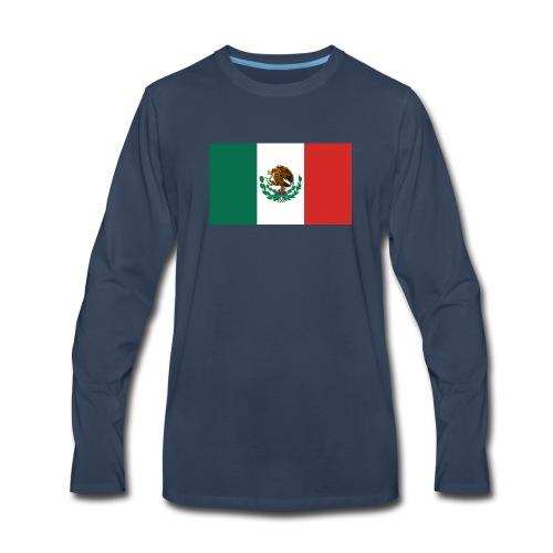 Mexican flag - Men's Premium Long Sleeve T-Shirt