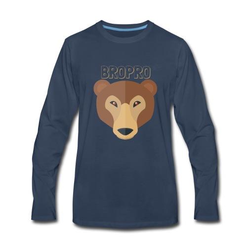 BROPRO - Men's Premium Long Sleeve T-Shirt