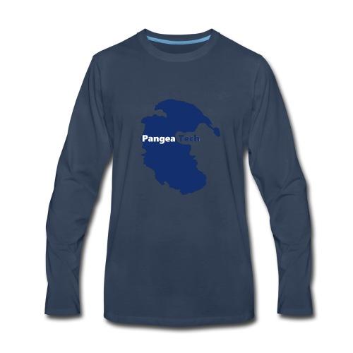Pangea Tech Logo - Men's Premium Long Sleeve T-Shirt