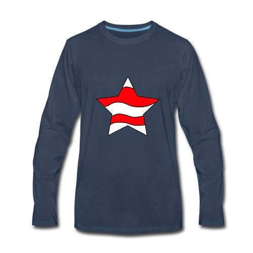 Patriot-1 Emblem - Men's Premium Long Sleeve T-Shirt