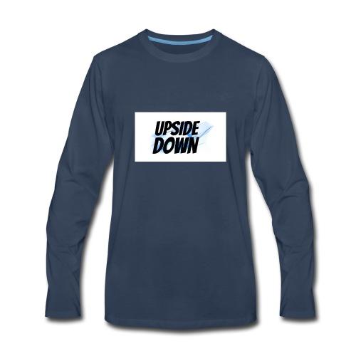 UPsideDOWN Iphone Cover - Men's Premium Long Sleeve T-Shirt