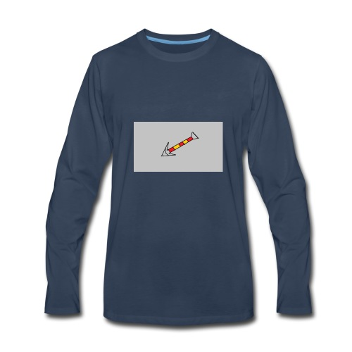Arrow 4 - Men's Premium Long Sleeve T-Shirt