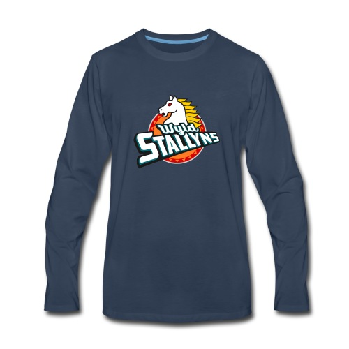 Stallyns logo - Men's Premium Long Sleeve T-Shirt