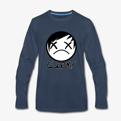 Gloomy Logo FINAL - Men's Premium Long Sleeve T-Shirt