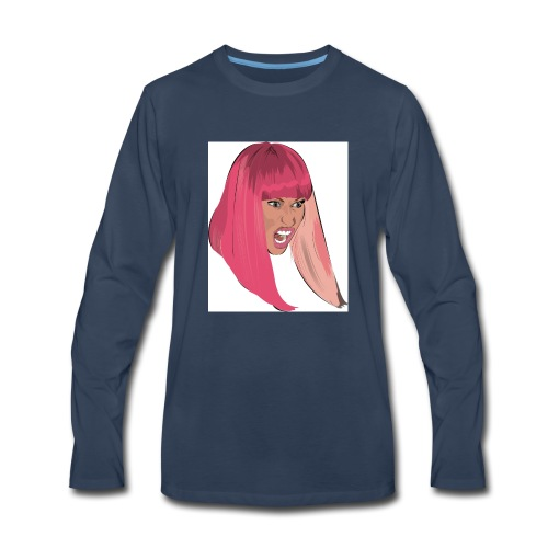 Nicki Monster Minaj Phone Case - Men's Premium Long Sleeve T-Shirt