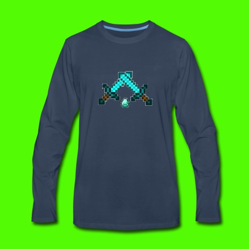 Thackattack MC Logo - Men's Premium Long Sleeve T-Shirt