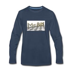 Mr. Bill$ - Men's Premium Long Sleeve T-Shirt
