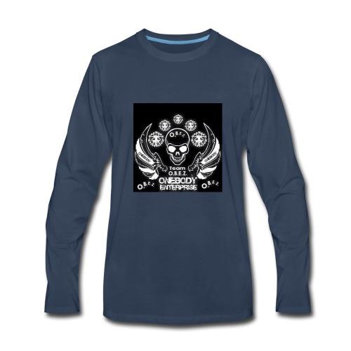 O.B.E.Z - Men's Premium Long Sleeve T-Shirt