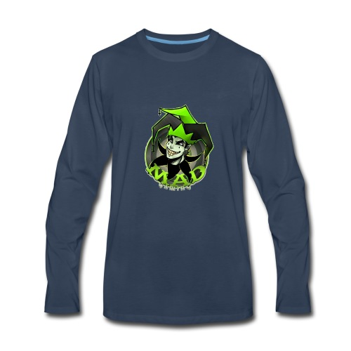 Mad Gaming T-Shirt - Men's Premium Long Sleeve T-Shirt