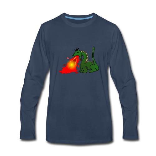 Spittin fire - Men's Premium Long Sleeve T-Shirt