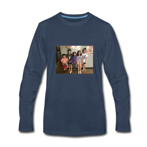 56EF43E5 70CE 4ACC 81CF 7A6B07D4C106 - Men's Premium Long Sleeve T-Shirt