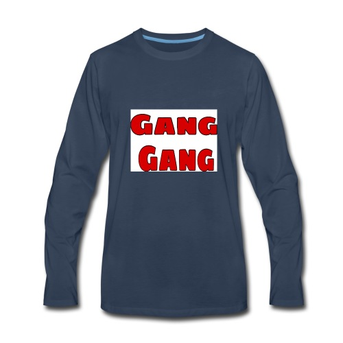 Gang Gang - Men's Premium Long Sleeve T-Shirt