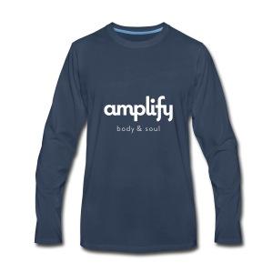 amplify logo - Men's Premium Long Sleeve T-Shirt