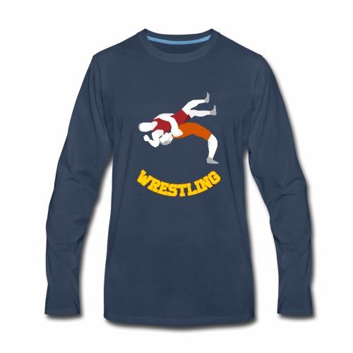 Takedown Shirt - Men's Premium Long Sleeve T-Shirt