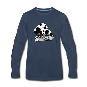 The Snuggle Is Real - Men's Premium Long Sleeve T-Shirt