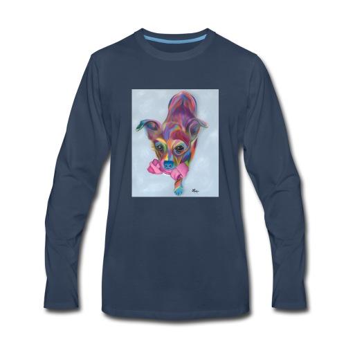 Dixie Dog - Men's Premium Long Sleeve T-Shirt