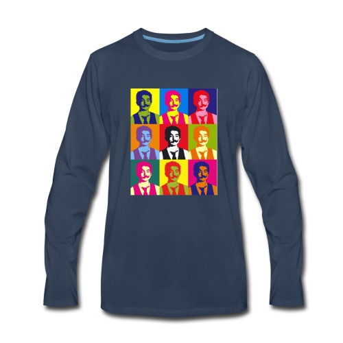 Warhol shirt - Men's Premium Long Sleeve T-Shirt