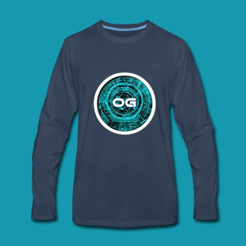 Overated gaming - Men's Premium Long Sleeve T-Shirt