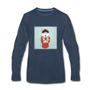 Hispter Dog - Men's Premium Long Sleeve T-Shirt