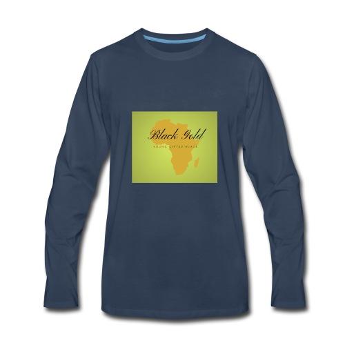 black gold - Men's Premium Long Sleeve T-Shirt