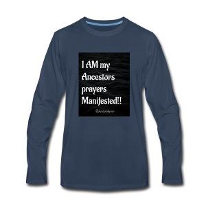 Manifested Prayers - Men's Premium Long Sleeve T-Shirt