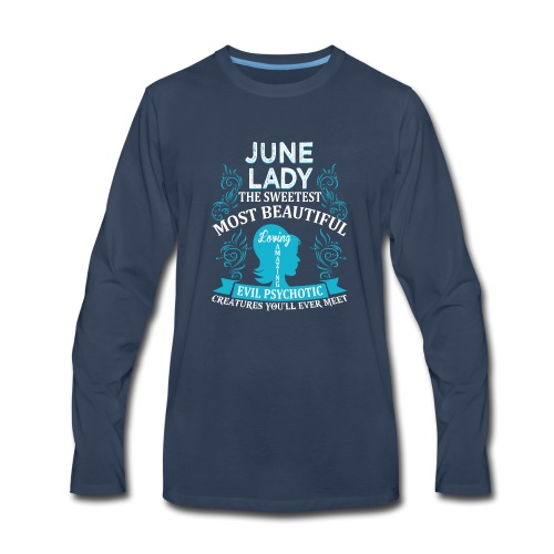 June lady - Men's Premium Long Sleeve T-Shirt