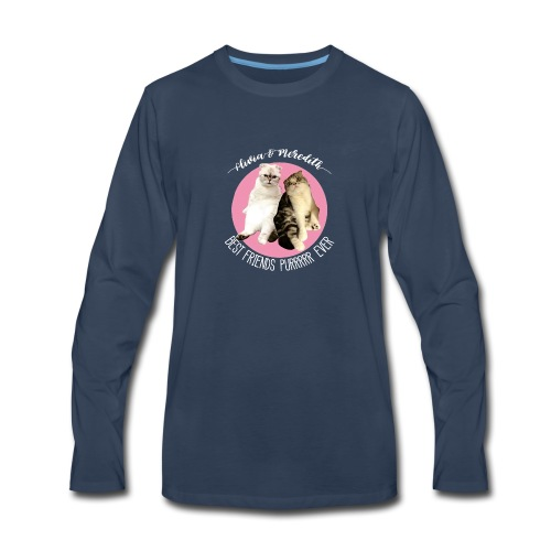 Olivia and Meredith Best Friends - Men's Premium Long Sleeve T-Shirt