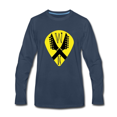Noise Yellow Pick - Men's Premium Long Sleeve T-Shirt