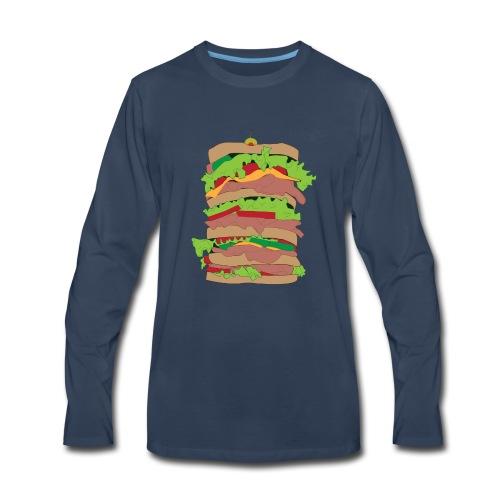 The Dagwood - Men's Premium Long Sleeve T-Shirt