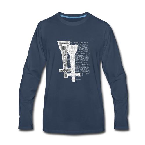 Antichrist design 1 - Men's Premium Long Sleeve T-Shirt