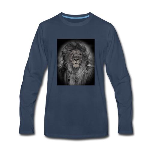 lion man - Men's Premium Long Sleeve T-Shirt