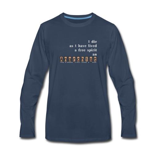 Anarchist - Men's Premium Long Sleeve T-Shirt