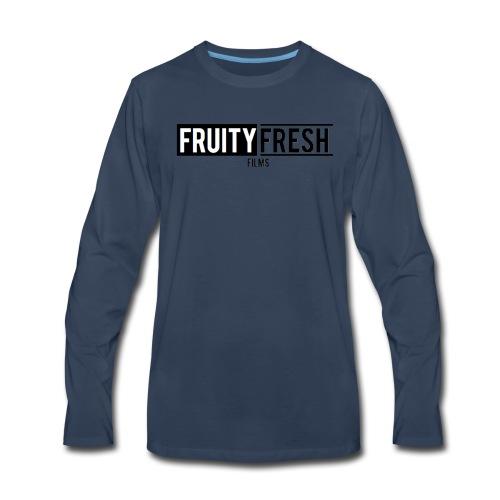 Fruity Fresh Films Marvel Parody - Men's Premium Long Sleeve T-Shirt