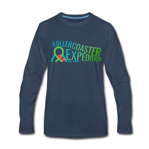 ROLLERCOASTER EXPEDITION - Men's Premium Long Sleeve T-Shirt